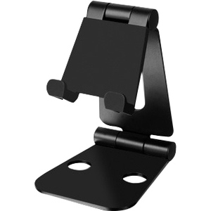 Aluratek Universal Adjustable Portable Foldable Smartphone and Tablet Stand