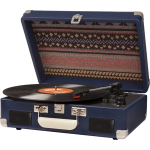 Crosley Cruiser II CR8005C-BL Record Turntable