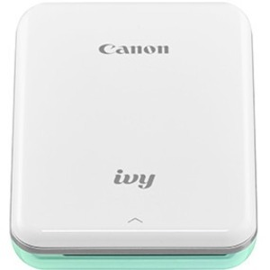Canon IVY Zero Ink Printer - Color - Photo Print - Portable - Mint Green