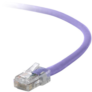 10ft Cat5e Purple Snagless RJ45 M/M Patch Cable / Mfr. No.: A3l791-10-Pur-S