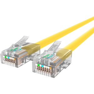 35ft Cat5e Yellow UTP RJ45 To RJ45 M/M Patch Cord / Mfr. No.: A3l791-35-Ylw