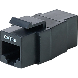 Cat5 Keystone Jack RJ45 F/F Bag And Label / Mfr. No.: R6d011