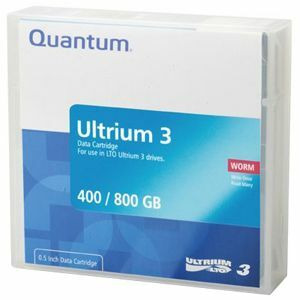 Quantum LTO Ultrium 3 WORM Tape Cartridge