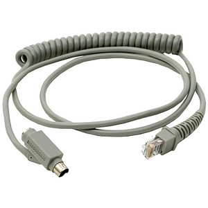 Unitech Keyboard Wedge Interface Coiled Cable