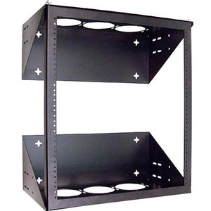 19in Swingaway Wallmount Rack 24inh/18ind Black 1box / Mfr. no.: F4D146
