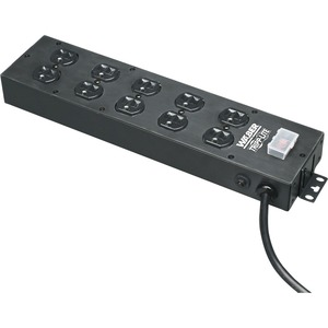 Waber By Tripp Lite Multiple Outlet Strip 10out 120v 15ft / Mfr. No.: Ul800cb-15