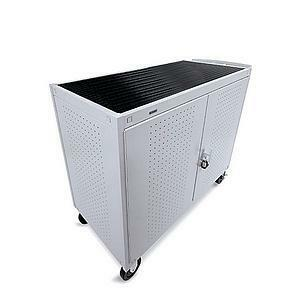 Grey Mist Storage Cart For 30u Laptop 8in Casters Front Electr / Mfr. No.: Lap30erbfr-Gm