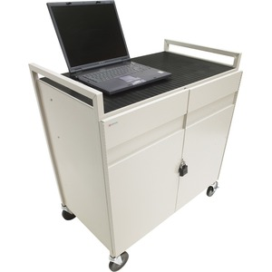 Storage Cart 15u Laptop W/ Elec Front/Rear Doors Cust Pays Frt / Mfr. No.: Laptg15esa-Gm