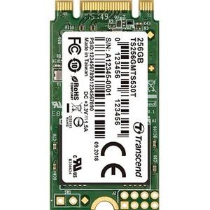 Transcend MTS MTS530T 256 GB Solid State Drive - SATA (SATA/600) - Internal - M.2 2242