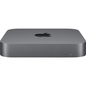 Apple Mac mini MRTR2VC/A Desktop Computer - Intel Core i3 8th Gen 3.60 GHz - 8 GB RAM DDR4 SDRAM - 128 GB SSD - Mini PC - Space Gray