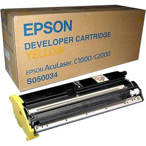 Toner Epson Jaune pour Aculaser C2000/1000 - S050034