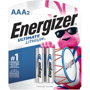 Energizer AAA High Energ Lithium Battery - 2 Pack / Mfr. No.: L92bp-2