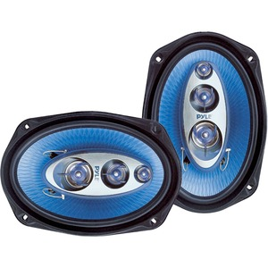 Pyle 6x9in 4-Way Speakers / Mfr. no.: PL-6984BL