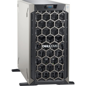 Dell PowerEdge T340 5U Tower Server - 1 x Xeon E-2134 - 8 GB RAM - 1 TB (1 x 1 TB) HDD - 12Gb/s SAS, Serial ATA/600 Controller