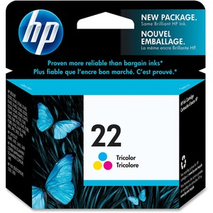 HP Inkjet Cartridge C9352AN #22 Colour