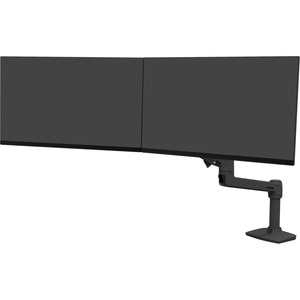 Ergotron Mounting Arm for Monitor - Matte Black