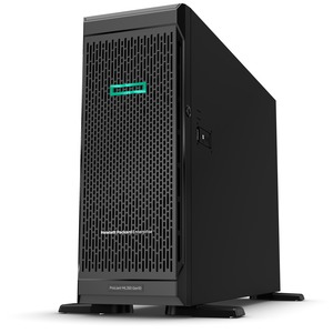 HPE ProLiant ML350 G10 4U Tower Server - 1 x Xeon Bronze 3204 - 16 GB RAM HDD SSD - Serial ATA Controller