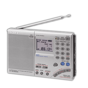 Fm Stereo Multiband World Receiver / Mfr. No.: Icfsw7600gr
