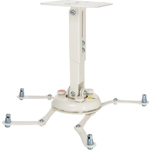 Universal Projector Mount With Adjustable Channel White / Mfr. No.: Pbl-Umw