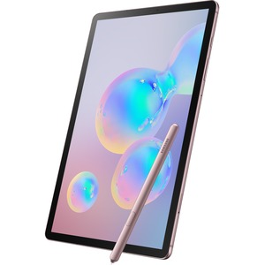 "Samsung Galaxy Tab S6 SM-T860 Tablet - 10.5"" - 6 GB RAM - 128 GB Storage - Android 9.0 Pie - Rose Blush"