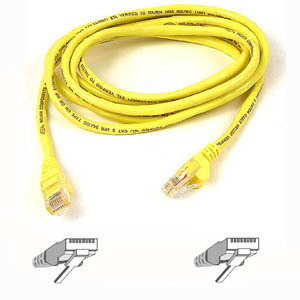 1000ft Cat6 Yellow Stranded 4pr 24awg Bulk Cable / Mfr. No.: A7j704-1000-Ylw