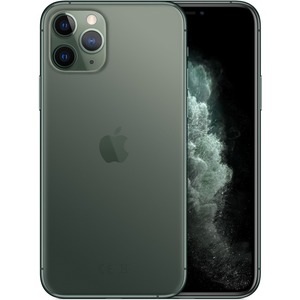 "Apple iPhone 11 Pro Max A2161 64 GB Smartphone - 6.5"" OLED2688 x 1242 - 4 GB RAM - iOS 13 - 4G - Midnight Green"