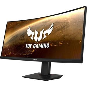 """TUF VG35VQ 35"""" WQHD Curved Screen LED Gaming LCD Monitor - 21:9 - Black"""