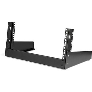 "StarTech.com 4U 19"" Desktop Open Frame Rack - 2-Post Free-Standing Network Rack - Switch/Patch Panel/Router/Data/AV/IT/Computer Equipment"