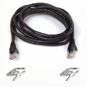 3ft Cat6 Black UTP Snagless RJ45 M/M Patch Cable / Mfr. No.: A3l980-03-Black-S