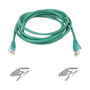 1000ft Cat6 Green Stranded 4pr 24awg Bulk Cbl / Mfr. no.: A7J704-1000-GRN