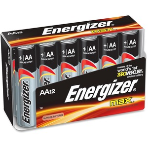 Energizer AA Size Family Pack 12pk / Mfr. No.: E91fp-12