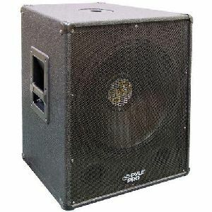 Pyle 18in Bass Speaker Cabinet / Mfr. No.: Pasw18
