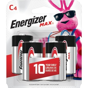 Energizer C Battery 4 Pack / Mfr. No.: E93bp-4