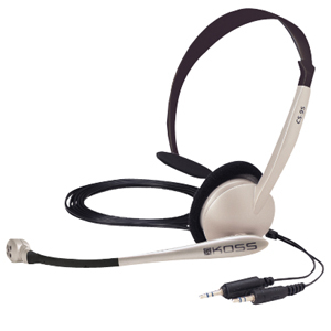 Comm Headset W/ Mic 8ft Vol Single Sided Listening Noise Ca / Mfr. No.: Cs95