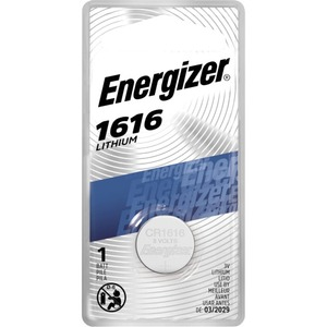 Energizer 3v Lithium Cel Button Battery / Mfr. No.: Ecr1616bp