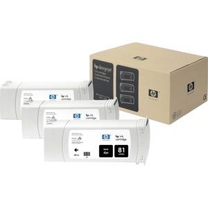 Multipack 3 Encre HP noires N°81 - C5066A
