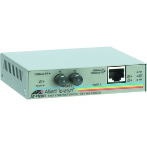 10/100btx To 100bfx St Media Converter Federal / Mfr. No.: At-Fs201-90