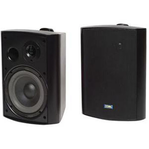 Tic 120 Watt Outdoor Patio Speakers - Black / Mfr. No.: Asp-120b