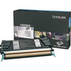 Toner Lexmark Noir pour C52/C53x - C5222KS