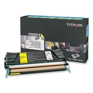 Toner Lexmark Jaune pour C52/C53x - C5220YS