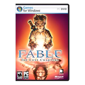 Fable The Lost Chapters Win32 English Na DVD Box Cd / Mfr. No.: A8b-00027