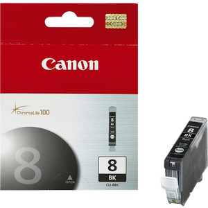 Canon Inkjet Cartridge CLI-8BK #8 Black