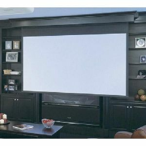 106in Diagonal Targa Motorized Projection Screen HDTV Matt Whi / Mfr. No.: 116301