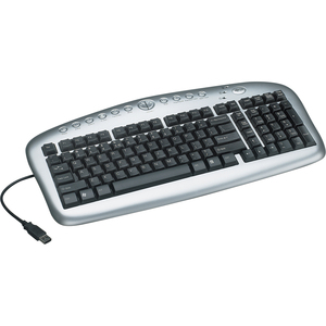 Notebook/Laptop Multimedia Keyboard USB Plug and Play / Mfr. No.: In3005kb