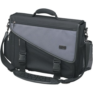 Notebook/Laptop Brief Profile Gray/Black Nylon