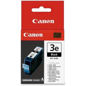 Canon Inkjet Cartridge BCI-3eBK #3e Black