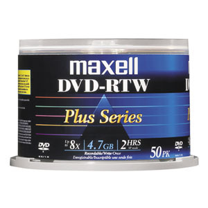 Maxell 8x DVD-R Media