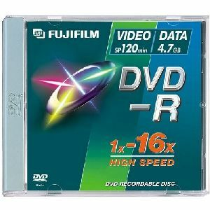 Fujifilm 16x DVD-R Media