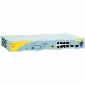 8port 10/100btx Mgd Poe Switch Plus 1 Combo 1000bt Or Sfp / Mfr. No.: At-8000/8poe-10