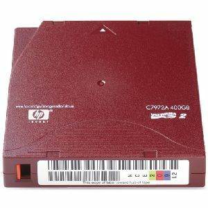 HP C7972AN LTO Ultrium 2 Non-Custom Labeled Tape Cartridge